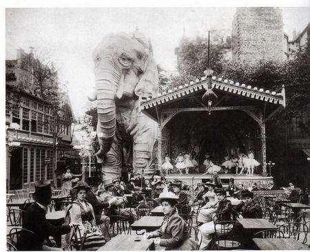 Дивовижний слон в саду мулен руж: загадка легендарного кабаре