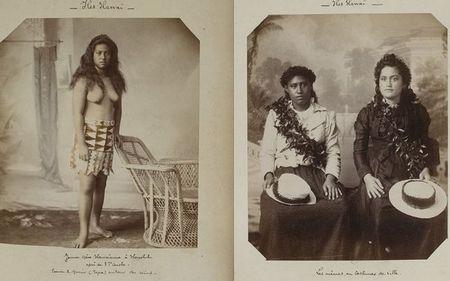 «Гавайський» стиль на ретро-знімках: як змінювалася одяг корінних мешканок островів з приходом європейців