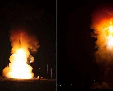 Ідеальне димове кільце від ракети