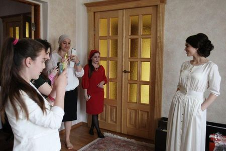 Який насправді буває чеченська весілля