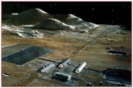 Будівлі на Місяці