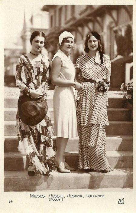 Ретрокрасавіци з конкурсу «міс європа - 1930»