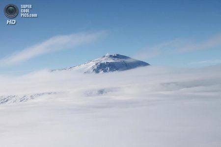 Найпівденніший вулкан землі (5 фото + hd-відео)