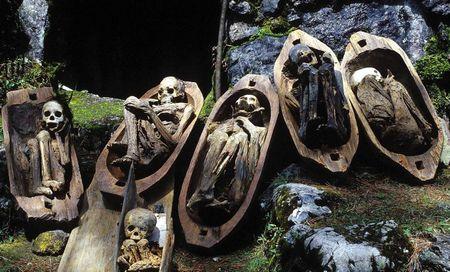 Унікальні вогняні мумії кабая