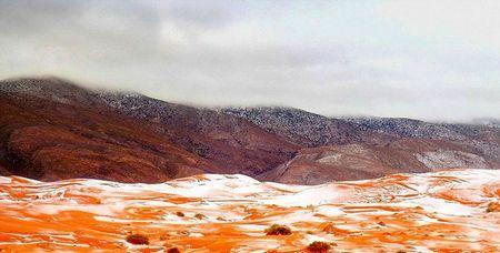 У сахарі випав сніг вперше за 37 років